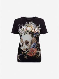 ALEXANDER MCQUEEN Top Woman Dutch Masters T-Shirt f