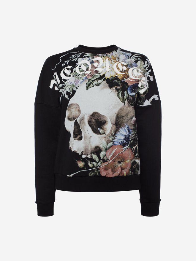 ALEXANDER MCQUEEN Dutch Masters Sweatshirt Sweatshirt Woman f