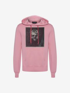 ALEXANDER MCQUEEN Sweatshirt Man Crowned Skull Hooded Sweatshirt f
