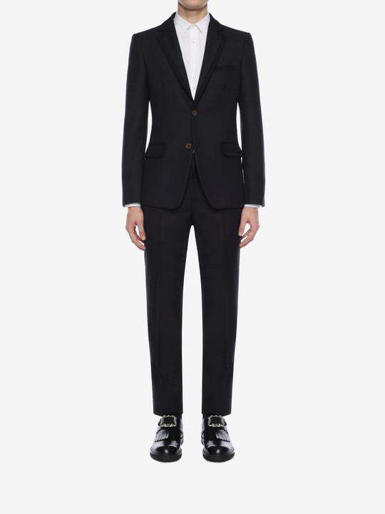 ALEXANDER MCQUEEN Wool Serge Trousers Tailored Pant U r