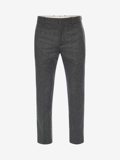 ALEXANDER MCQUEEN Tailored Trouser U Flannel Trousers f
