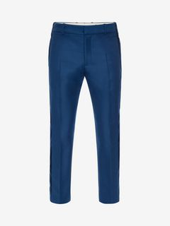 ALEXANDER MCQUEEN Tailored Trouser U Side Band Trousers f