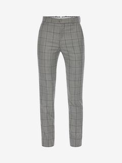 ALEXANDER MCQUEEN Tailored Trouser U Prince of Wales Trousers f