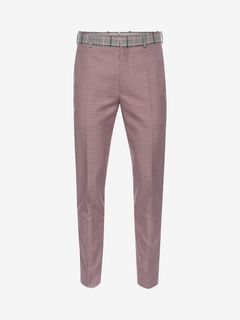 ALEXANDER MCQUEEN Tailored Pant Man Dogtooth Pants f