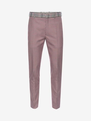 ALEXANDER MCQUEEN Dogtooth Pants Tailored Pant Man f