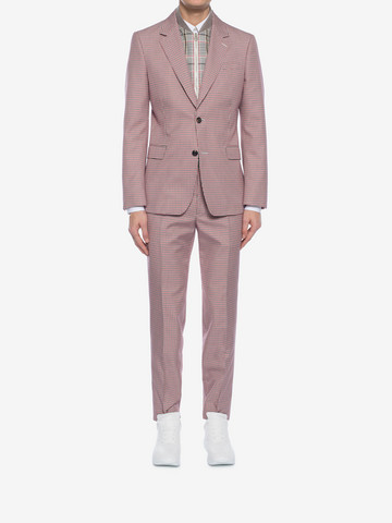 ALEXANDER MCQUEEN Dogtooth Pants Tailored Pant Man r