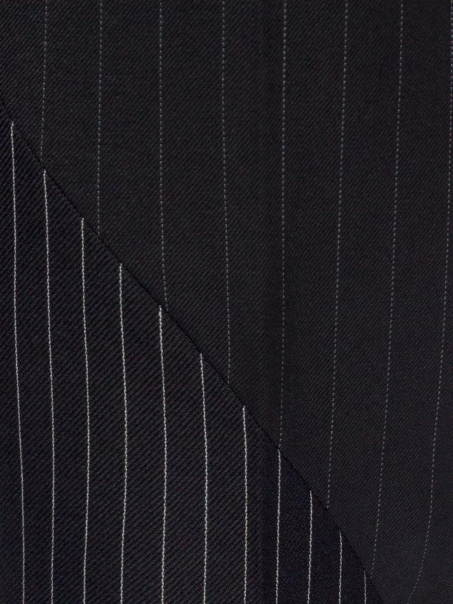 ALEXANDER MCQUEEN Pinstripe Patchwork Pants Tailored Pant Man a