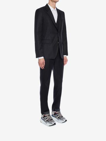 ALEXANDER MCQUEEN Pinstripe Patchwork Pants Tailored Pant Man d