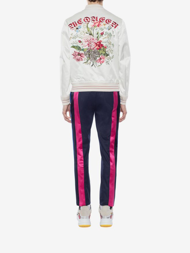 ALEXANDER MCQUEEN Multicolor Side Band Pants Tailored Pant Man e