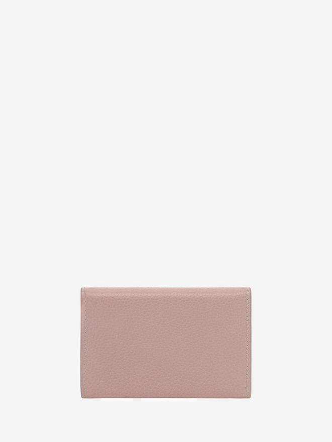 ALEXANDER MCQUEEN Small Grain Calf Envelope Card Holder Card Holder D d