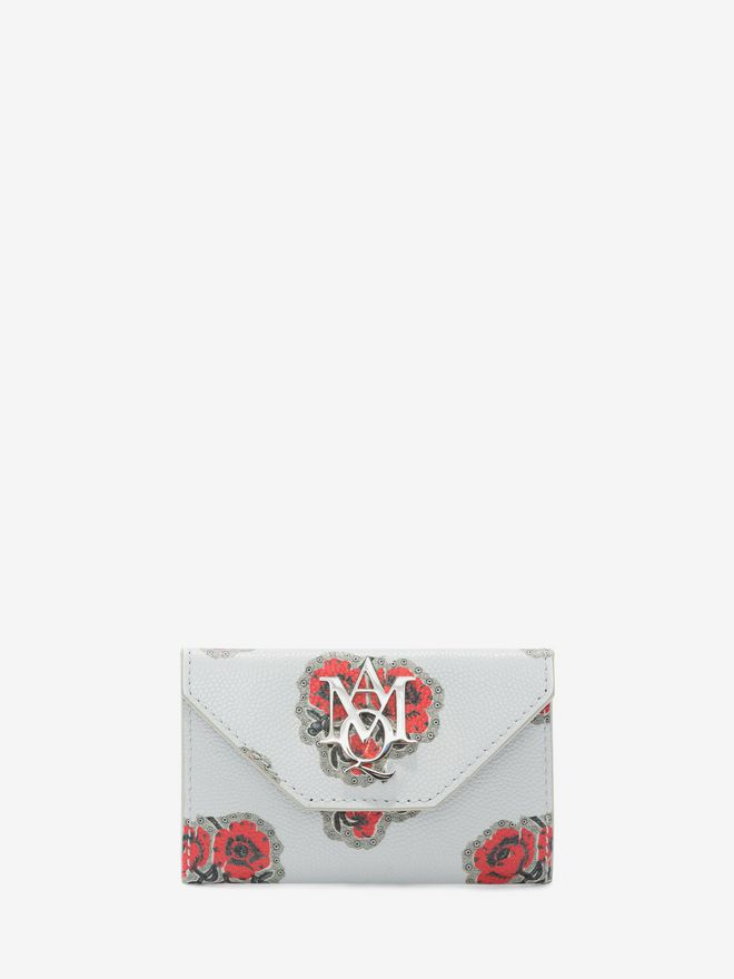 ALEXANDER MCQUEEN Insignia Envelope card holder Card Holder D f