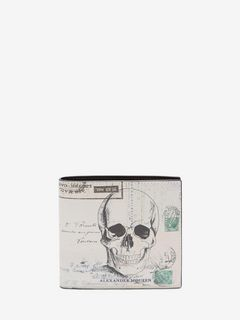 """Letters from India"" Print Billfold Wallet"