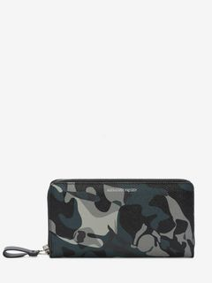 Camouflage Zipper Wallet