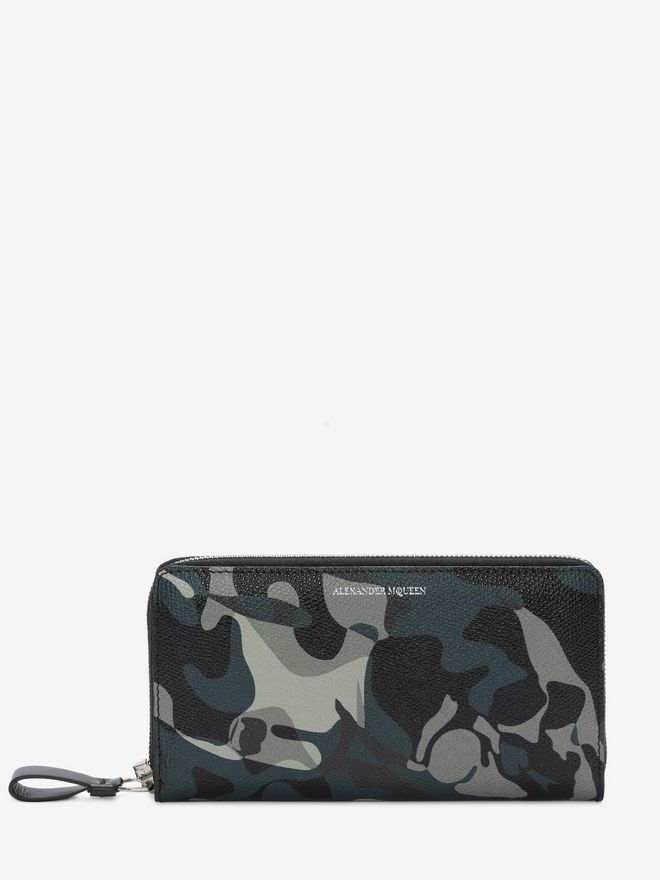 ALEXANDER MCQUEEN Camouflage Zip Wallet Wallet U f