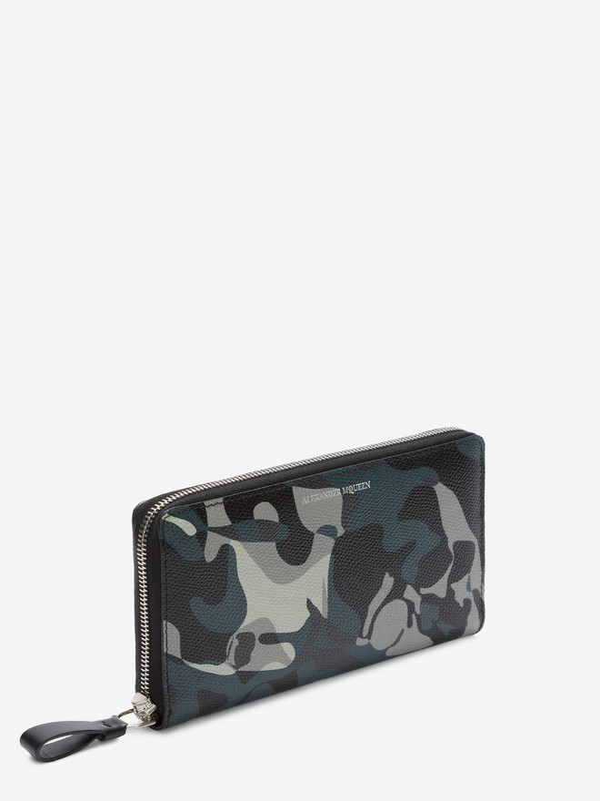 ALEXANDER MCQUEEN Camouflage Zip Wallet Wallet U r