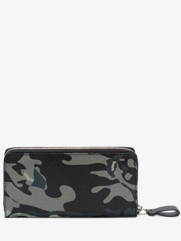 ALEXANDER MCQUEEN Camouflage Zip Wallet Wallet U d