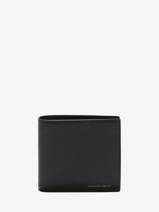 ALEXANDER MCQUEEN Black Billfold Wallet Wallet U f