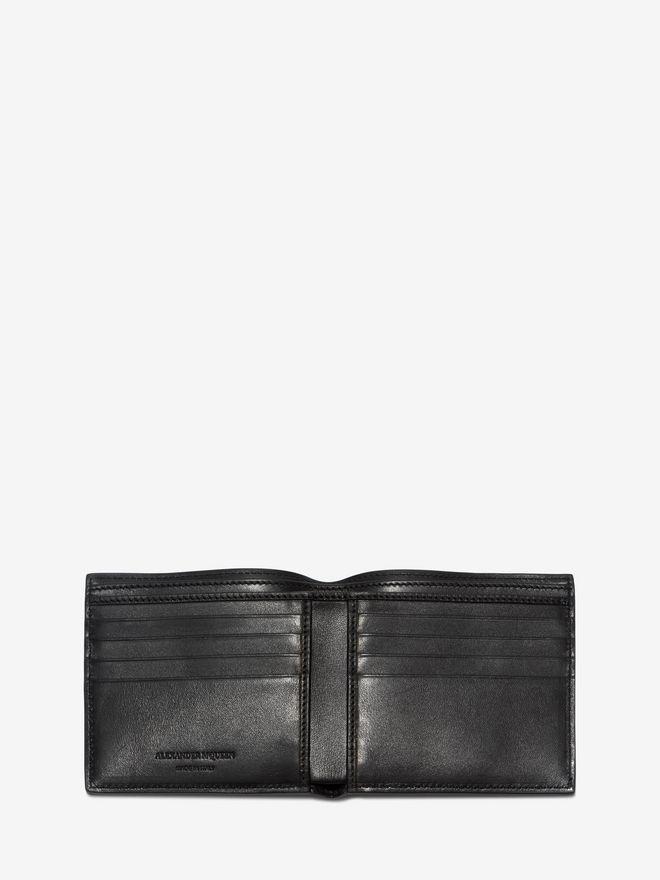 ALEXANDER MCQUEEN Black Billfold Wallet Wallet U e