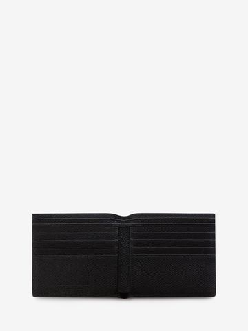 ALEXANDER MCQUEEN Coat of Arms Leather Billfold Wallet Wallet U e