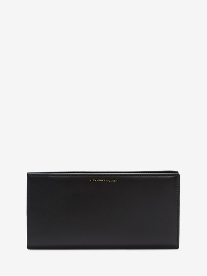 ALEXANDER MCQUEEN Calf Leather Travel Wallet Wallet U f