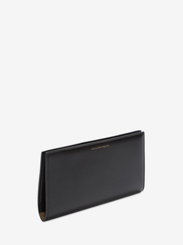 ALEXANDER MCQUEEN Calf Leather Travel Wallet Wallet U r