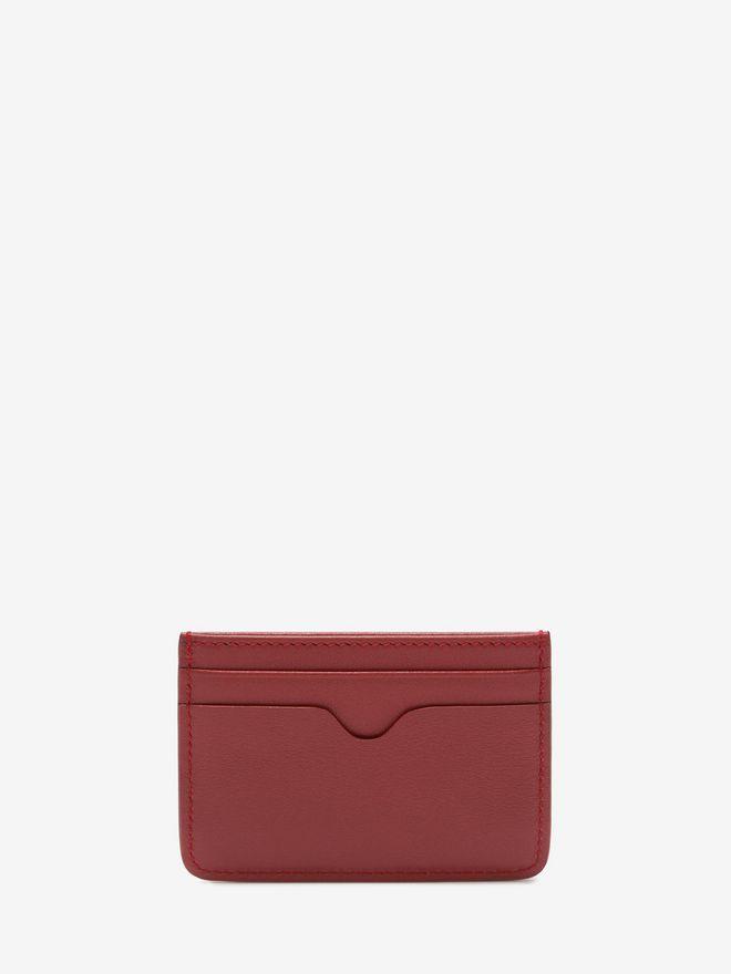 ALEXANDER MCQUEEN Leather Card Holder Card Holder D d