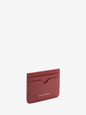ALEXANDER MCQUEEN Leather Card Holder Card Holder D r