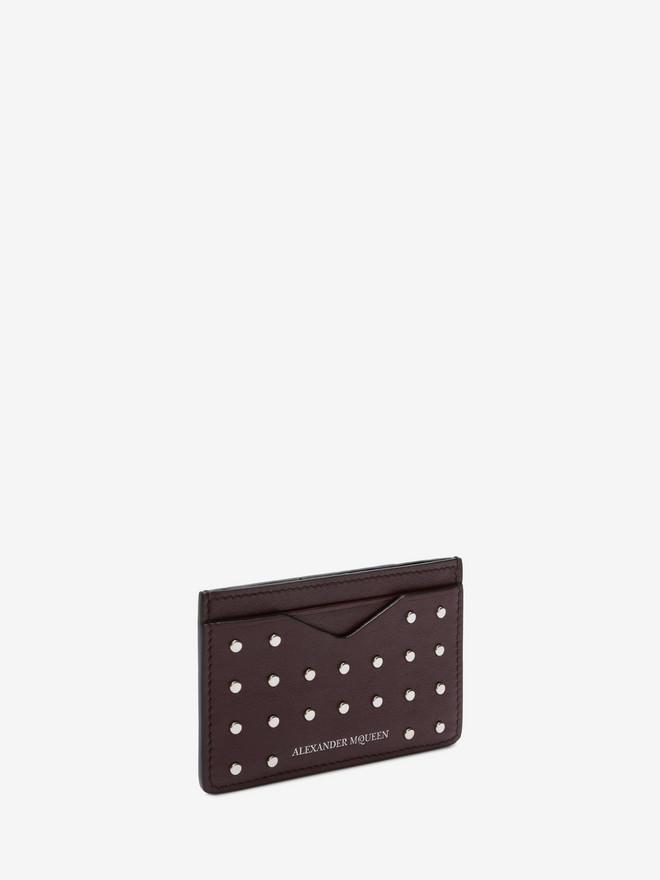ALEXANDER MCQUEEN Studded Card Holder Card Holder U r