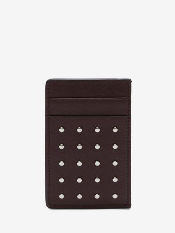 ALEXANDER MCQUEEN Studded Card Holder Card Holder U d