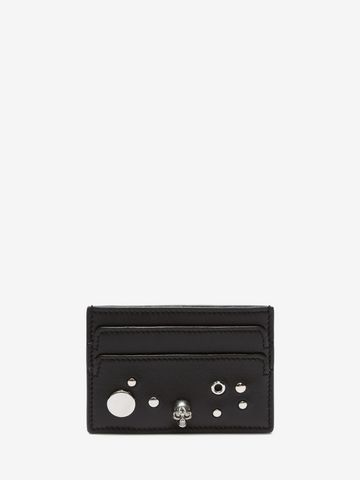 ALEXANDER MCQUEEN Eyelet and Stud Card Holder Card Holder D f