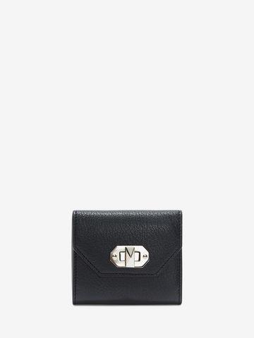 ALEXANDER MCQUEEN Box Business Card Holder BOX CARD HOLDER Woman f