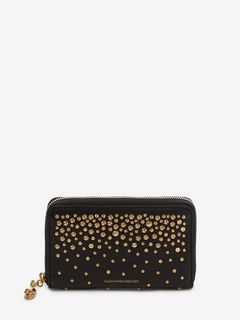 ALEXANDER MCQUEEN ZIP AROUND WALLET Woman Medium Zip-Around Continental Wallet f