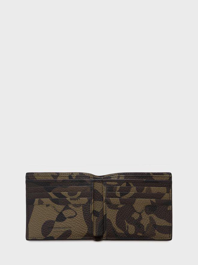 ALEXANDER MCQUEEN Camouflage Leather Billfold Wallet BILLFOLD 8CC WALLET Man e