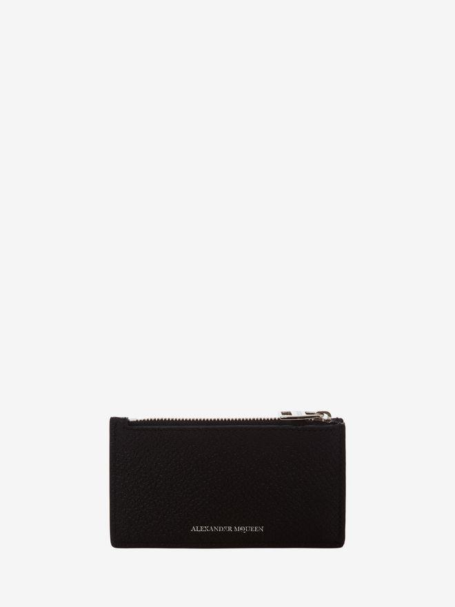 ALEXANDER MCQUEEN Small Zip Coin Card Holder ZIP COIN CARD HOLDER Man f