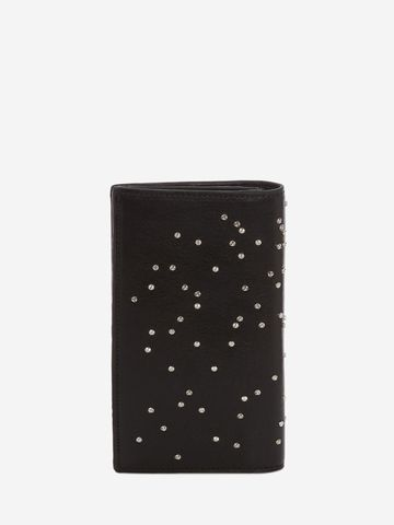 Alexander McQueen Studded Folded Long wallet 0Xan1q