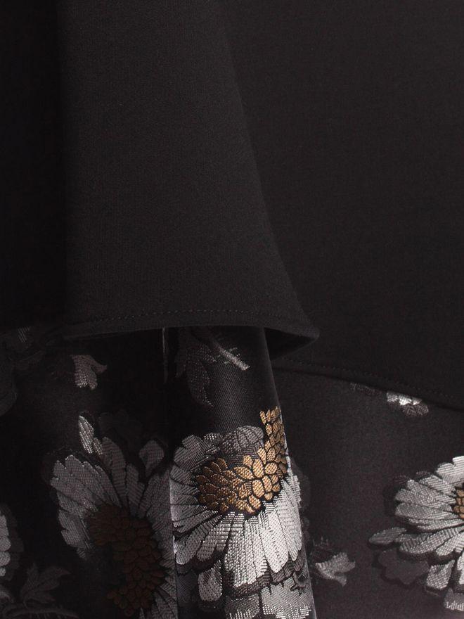 ALEXANDER MCQUEEN Folded Drape Mini Dress Mini Dress D a