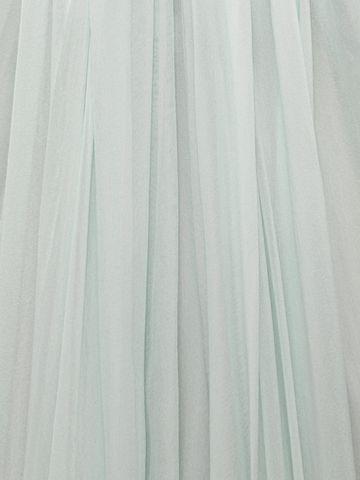 ALEXANDER MCQUEEN Draped Bustier Dress Long Dress D a