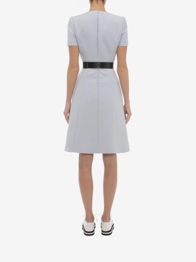 ALEXANDER MCQUEEN Box Pleat Dress Mini Dress D e