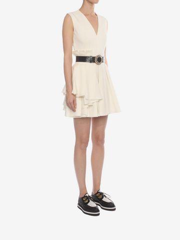 ALEXANDER MCQUEEN Fold Pleat Mini Dress Mini Dress D d