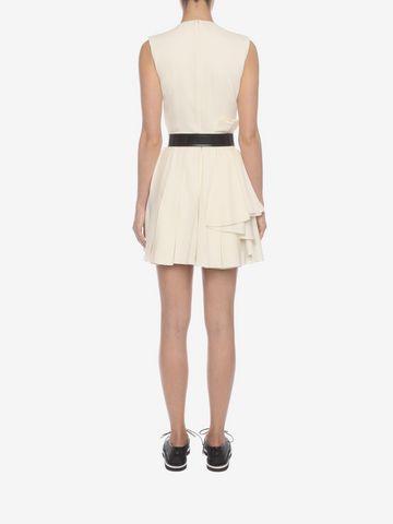 ALEXANDER MCQUEEN Fold Pleat Mini Dress Mini Dress D e