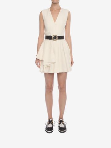 ALEXANDER MCQUEEN Fold Pleat Mini Dress Mini Dress D r