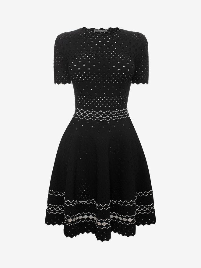 ALEXANDER MCQUEEN Full Circle Mini Dress Mini Dress D f