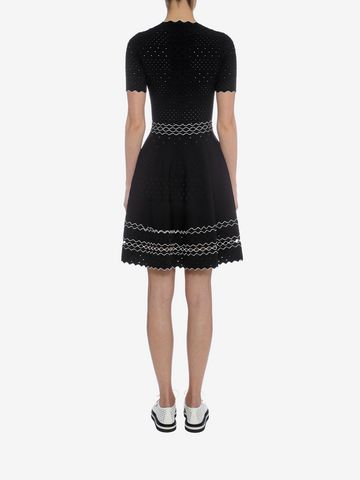 ALEXANDER MCQUEEN Full Circle Mini Dress Mini Dress D e