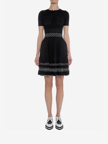ALEXANDER MCQUEEN Full Circle Mini Dress Mini Dress D r