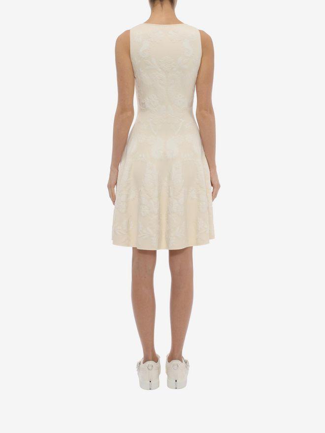 ALEXANDER MCQUEEN Sleeveless Corset Neck Dress Mid-length Dress D e