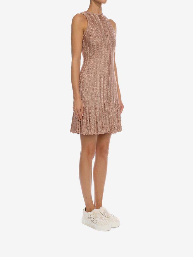 ALEXANDER MCQUEEN Sleeveless Flute Mini Dress  Mini Dress D d