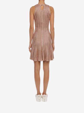 ALEXANDER MCQUEEN Sleeveless Flute Mini Dress  Mini Dress D e