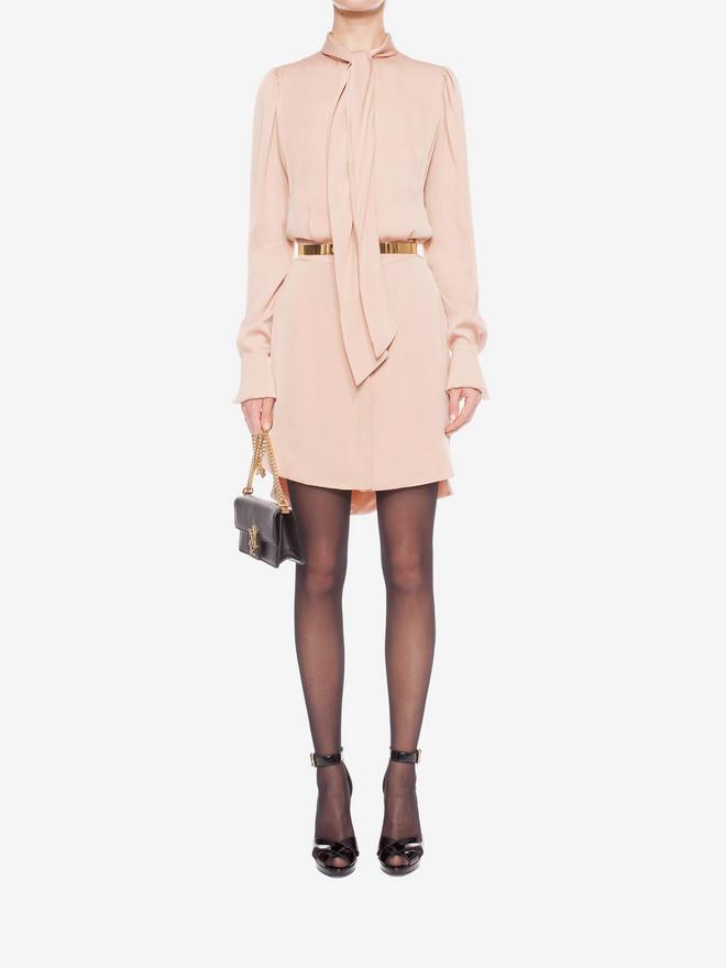 ALEXANDER MCQUEEN Shirt Dress Mini Dress D r