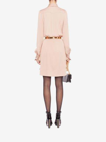 ALEXANDER MCQUEEN Shirt Dress Mini Dress D e