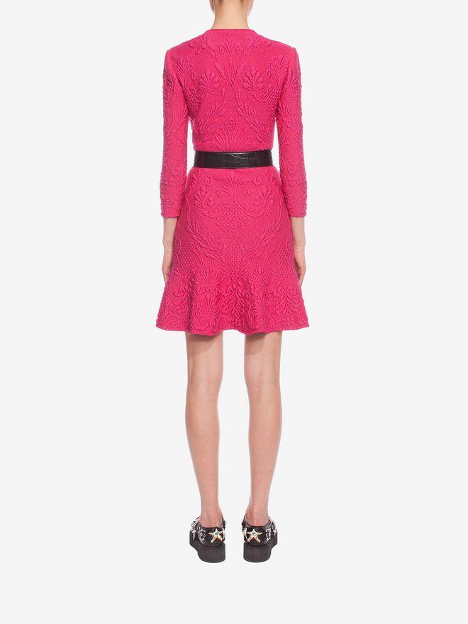 ALEXANDER MCQUEEN Quilting Pencil Dress Mini Dress D e